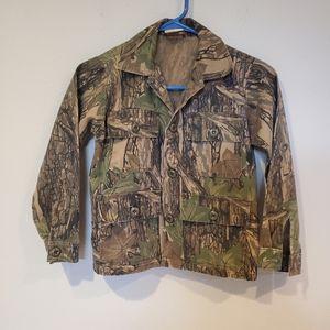 Vintage Cabela's Youth Camo Jacket Size 10